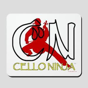 Cello Ninja Mousepad