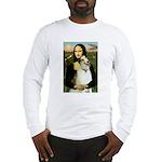 Mona & her Borzoi Long Sleeve T-Shirt