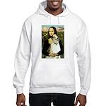 Mona & her Borzoi Hooded Sweatshirt