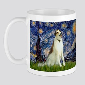 Starry Night & Borzoi Mug