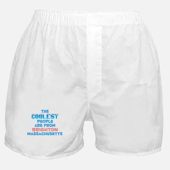 Coolest: Brighton, MA Boxer Shorts