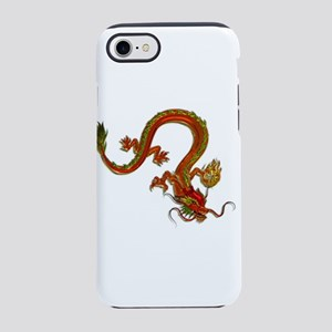 Metallic Orange Serpent Drag iPhone 8/7 Tough Case