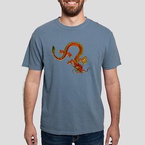 Metallic Orange Serpent Dragon T-Shirt