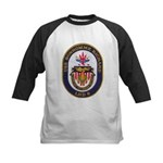 USS BON HOMME RICHARD Kids Baseball Jersey