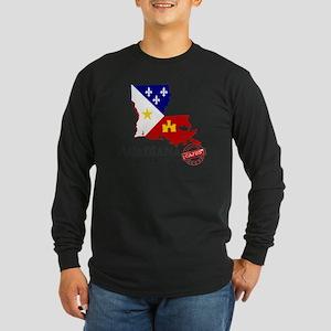 Acadiana French Louisiana Caju Long Sleeve T-Shirt