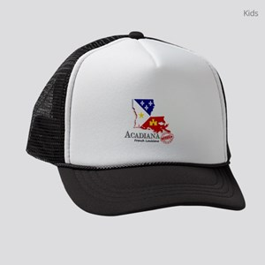 Acadiana French Louisiana Cajun Kids Trucker hat