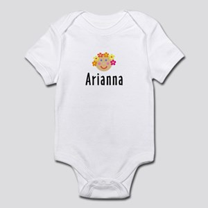 Arianna - Flower Girl Head Infant Bodysuit