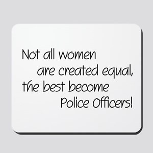 Best Police Officers Mousepad