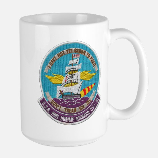 USS BON HOMME RICHARD Large Mug