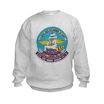 USS BON HOMME RICHARD Kids Sweatshirt