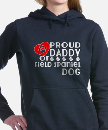Proud Daddy Of Field Spa Women's Hooded Sweatshirt
