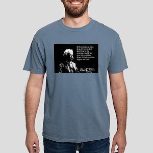 Mark Twain, Eating Frogs, T-Shirt