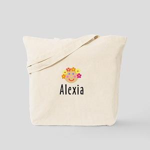 Alexia - Flower Girl Head Tote Bag