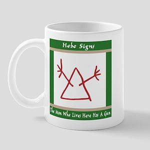 The Hobo Signs Mug