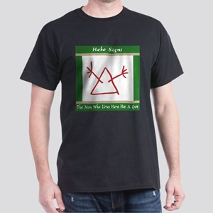 The Hobo Signs Dark T-Shirt