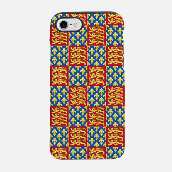 Royal Arms of England and Fr iPhone 8/7 Tough Case