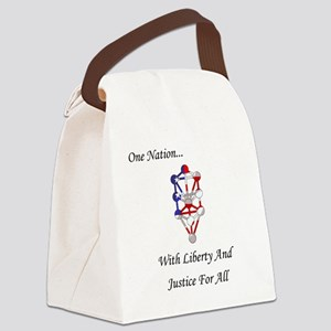 One Nation Kabbalah Canvas Lunch Bag