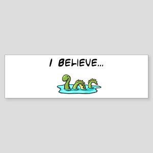 I Believe in the Loch Ness Mo Bumper Sticker