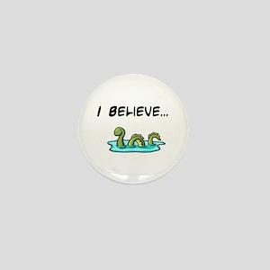 I Believe in the Loch Ness Mo Mini Button