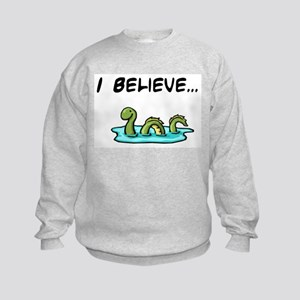 I Believe in the Loch Ness Mo Kids Sweatshirt