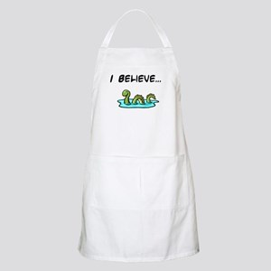 I Believe in the Loch Ness Mo BBQ Apron