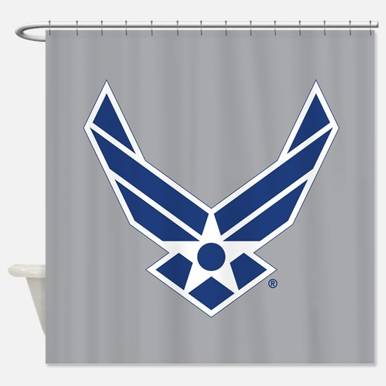 Air Force Symbol Shower Curtain