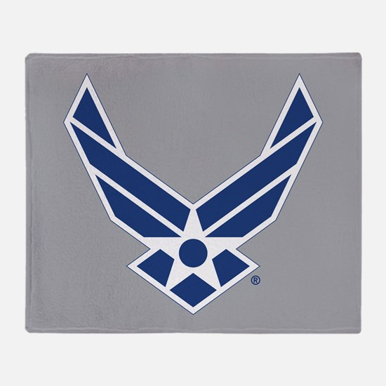 Air Force Symbol Throw Blanket