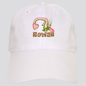 Rainbows & Stars Rowan Personalized Cap