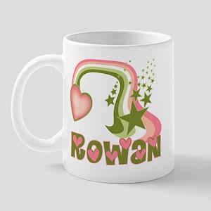 Rainbows & Stars Rowan Personalized Mug