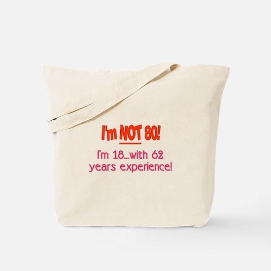 Unique 80th birthday Tote Bag