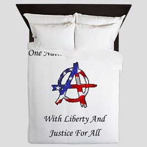 One Nation Anarchy Queen Duvet
