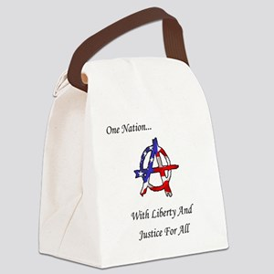 One Nation Anarchy Canvas Lunch Bag