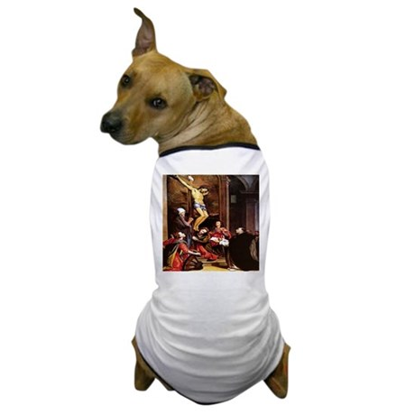 001-CRUCIFIXION Dog T-Shirt