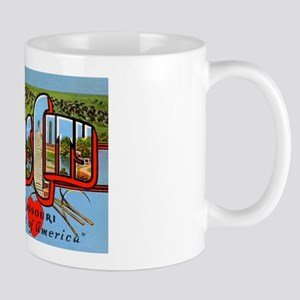 Kansas City Missouri Greetings Mug