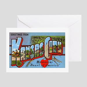 Kansas City Missouri Greetings Greeting Card