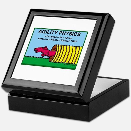 Agility Physics Keepsake Box