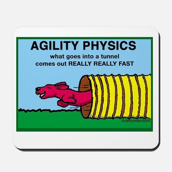 Agility Physics Mousepad
