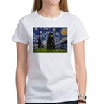 Starry Night Bouvier Women's T-Shirt