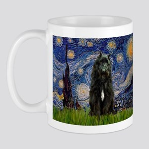 Starry Night Bouvier Mug