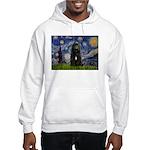 Starry Night Bouvier Hooded Sweatshirt
