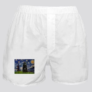 Starry Night Bouvier Boxer Shorts