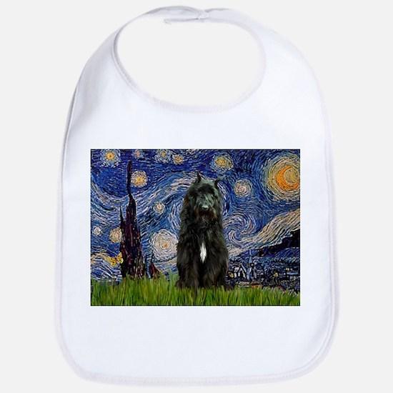 Starry Night Bouvier Bib