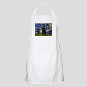 Starry Night Bouvier Apron