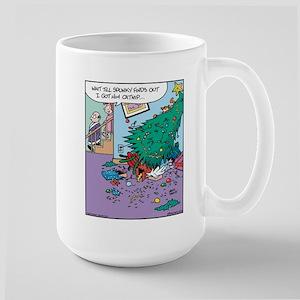 Catnip Christmas Present Large Mug