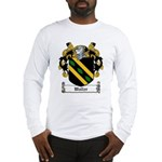 Waller Family Crest Long Sleeve T-Shirt