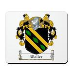 Waller Family Crest Mousepad