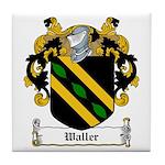 Waller Family Crest Tile Coaster