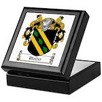 Waller Family Crest Keepsake Box