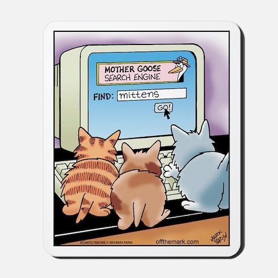 Kitten Search Engine Mousepad