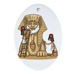 Shriners at work Oval Ornament